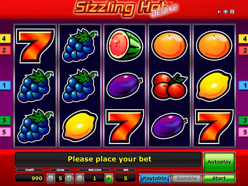 Sizzling Hot Ohne Geld Spielen