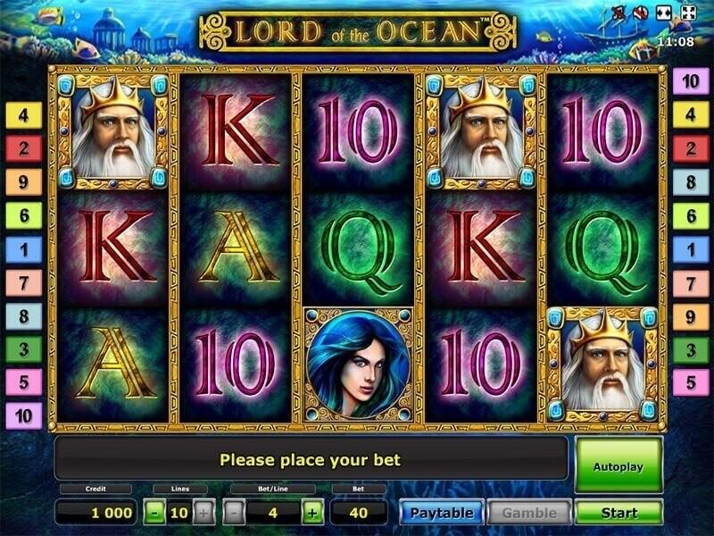Lord of the Ocean kostenlos ohne Anmeldung und ohne Einzahlung ausprobieren